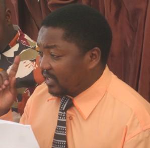Mwenyekiti wa Jukwaa la Katiba Tanzania Bw, Deus Kibamba