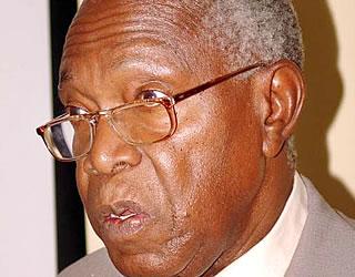 Aliyekuwa Mwenyekiti wa Tume ya Taifa ya Uchaguzi (NEC), Jaji Mstaafu Lewis Makame.
