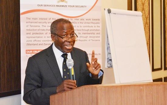 Mwenyekiti wa Chama cha Majaji Wastaafu (Tarja), Jaji Thomas Mihayo