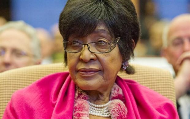 Mke wa zamani wa Nelson Mandela, Winnie Mandela