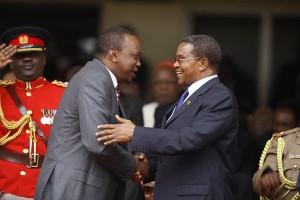 Kikwete na Uhuru Kenyatta