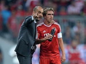Fussball  1. Bundesliga Saison 2013/2014: FC Bayern Muenchen - Borussia Moenchengladbach