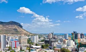 Port Lous, mji mkuu wa Mauritius, taifa ambalo asilimia 40 ya wateja wa Benki wa Dunia waliowekeza kusini mwa Jangwa la Sahara Afrika