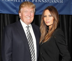 Donald Trump na Melania Trump