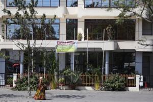 Hotel ya Landmark iliyopo Ubungo Riverside iliyogeuzwa kuwa hosteli ya wanafunzi.