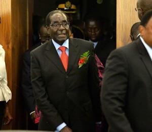 Rais wa Zimbabwe Robert Mugabe