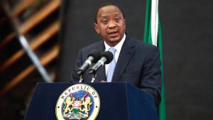 RAIS Uhuru Kenyatta wa Kenya.