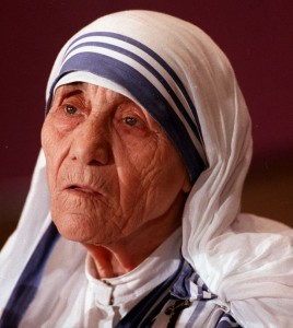 Mother Teresa, the Roman Catholic nun
