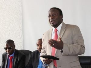 Waziri wa Katiba na Sheri, Harrison Mwakyembe.