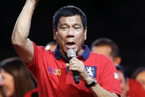 RAIS wa Philippines, Rodrigo Duterte