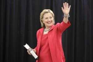MGOMBEA urais wa Chama cha Democratic nchini Marekani, Hillary Clinton.