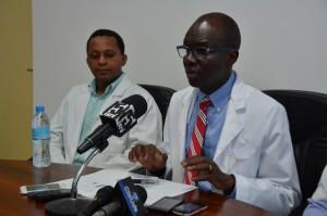 Mkurugenzi wa JKCI, Profesa Mohamed Janabi