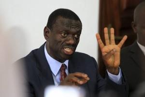 KIONGOZI wa upinzani  Uganda, Dk. Kizza Besigye
