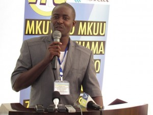Rais wa Umoja wa Klabu za Waandishi wa Habari Tanzania (UTPC), Deogratius Nsokolo