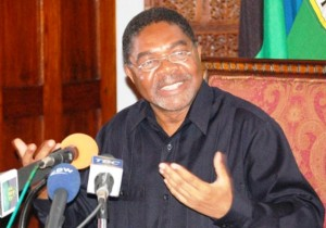 RAIS wa Zanzibar na Mwenyekiti wa Baraza la Mapinduzi Dk. Ali Mohamed Shein