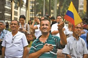 COLOMBIA-FARC-PEACE-DEMO