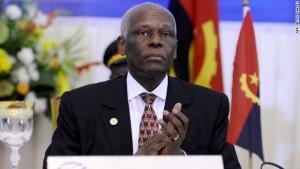 Rais wa Angola, Jose Eduardo dos Santos