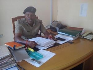 Kamanda wa kikosi cha usalama barabarani Mkoa wa Pwani Abdi Issango