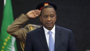 RAIS wa Kenya Uhuru Kenyatta
