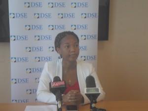 Ofisa Mwandamizi wa Masoko wa DSE, Mary Kinabo