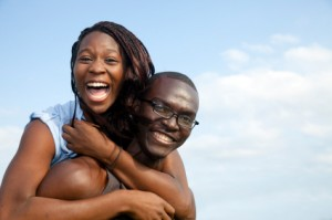 happy-african-american-couple
