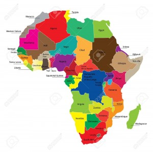 9255646-detail-color-map-of-african-continent-with-borders-each-state-is-colored-to-the-various-color-and-ha-stock-vector