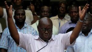 Rais mpya wa Ghana, Nana Akufo-Addo