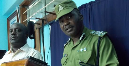 Kamanda wa Polisi Mkoa wa Tanga, Benedict Wakulyamba